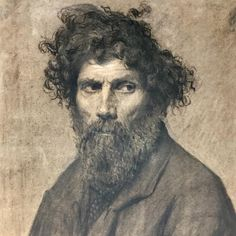 Drawings at its best: isn't it marvellous what a talented eye can put on paper with a piece of charcoal. This intense portrait by a not yet identified Italian master welcomes you at Maurizio Nobile during the Salon du Dessin, until 26 March. At Palais Brongniart, Paris. . . #maurizionobile #portrait #anonymousmaster #salondudessin2018 #salondudessin #semainedudessin #drawingweek #charcoal #artoftheday