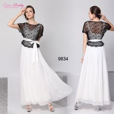 Ever Pretty Lace Long Formal Evening Summer Dresses 09834 Size 8 10 12 14 16 18