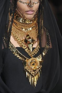 GIVENCHY TRIBAL HAUTE COUTURE JEWELRY