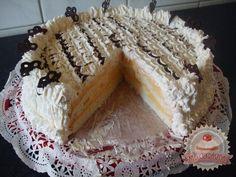Érdekel a receptje? Kattints a képre! Hungarian Desserts, Hungarian Recipes, Hungarian Food, My Recipes, Tiramisu, Tart, Deserts, Muffin, Food And Drink