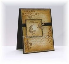 Earthy Brown Carte Postale_tbu by stagccva - Cards and Paper Crafts at Splitcoaststampers