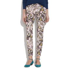 madewell skinny floral jeans cute and comfy madewell skinnies with a floral print, have only been worn a handful of times but can pair with many different tops Madewell Jeans Skinny