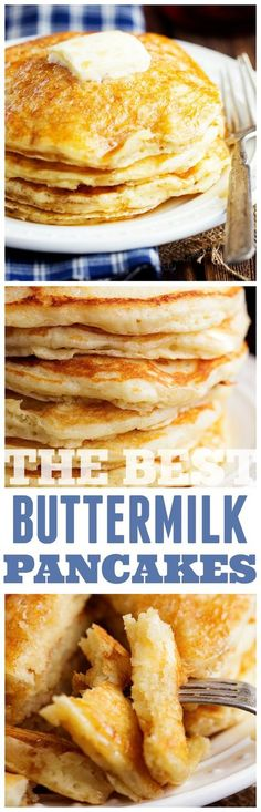 The BEST and only Buttermilk Pancake: