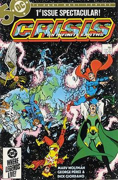 Crisis on Infinite Earths - Wikipedia, the free encyclopedia