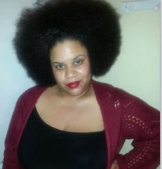 My sexy fro