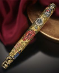 Fountain Pens: Limited Editions  Russian Miniature Art  From Urushi To Palekh