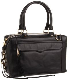 Rebecca Minkoff Mab Mini Shoulder Bag,Black,One Size