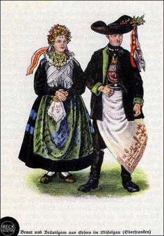 Braut und Bräutigam aus Mistelgau, Oberfranken | Flickr - Photo Sharing!