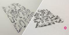 3D Typography | Lex Wilson - Feel Desain