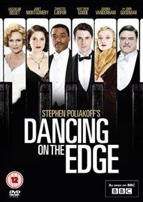 Dancing on the Edge BBC; Chiwetel Ejiofor, Matthew Goode, Angel Coulby) -- Race and class collide in London when a black jazz band comes to play. This has all the stuff I love. Matthew Goode, Period Drama Movies, Period Dramas, Good Movies To Watch, Great Movies, Movies Showing, Movies And Tv Shows, Dancing On The Edge, Tv Series To Watch