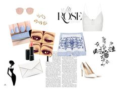"""""""blue and white"""" by daniela-rivera-i on Polyvore"""