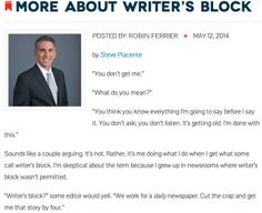 Conquer writer's block!
