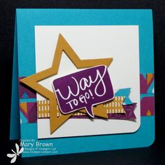 WT533 Way to Go! by stampercamper - Cards and Paper Crafts at Splitcoaststampers