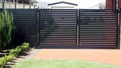Colorbond fence and slats - Google Search