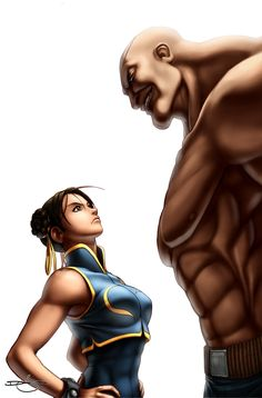 SF Legends Chun-Li 4A by #UdonCrew on deviantART: I may be biased but I think Chun Li is gonna take this one!