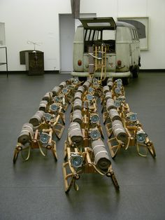 Joseph Beuys - Das Rudel (the pack)