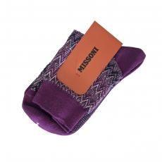 Missoni - Signature Sock Purple Multi
