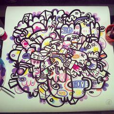 Arte em papel ph neutro. Técnica: Aquarela e acrílica Medidas:60x60 Artista: Loro Verz www.loroverz.com #loroverz #art