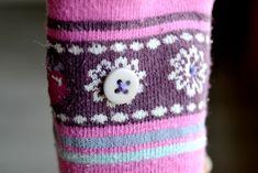 Holly Hobby 20 mm tissu boutons recouverts-fleur 5 Sun Bonnet