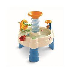 Spiralin Seas Waterpark Water Table Play Toy Motor Skills Balls Outdoor NEW  #LittleTikes