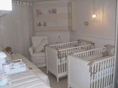 Quartos de bebês gêmeos – veja 20 modelos lindos   dicas!