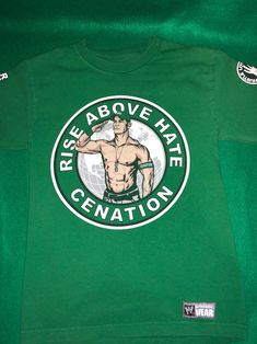 """WWE Wrestling - the iconic John Cena """"U Can't C Me"""" T-Shirt Size:Small Condition: Washed a few times, but besides that, flawless. No stains, no holes, no snags. John Cena Quotes, Jone Cena, John Cena Wrestling, My T Shirt, Wwe, Stains, Times, Mens Tops, Shirts"""