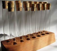 Empty 15 piece test tube spice rack. par spicespicebaby sur Etsy