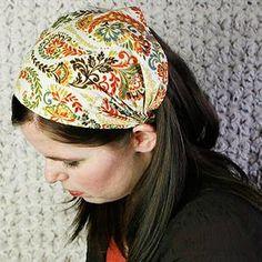 ADULT Headband Sewing Pattern PDF Wide Yoga Headband Pattern   Etsy Fabric Headbands, Cute Headbands, Headbands For Women, Turban Headband Tutorial, Headband Pattern, Workout Headband, Yoga Headband, Bandana Styles, Headband Styles