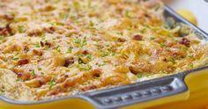 Cuisinez-les pour votre prochain brunch, elles sont tout simplement délicieuses Potato Casserole, Base Foods, Cheddar, Macaroni And Cheese, Oven, Food And Drink, Potatoes, Healthy Recipes, Breakfast