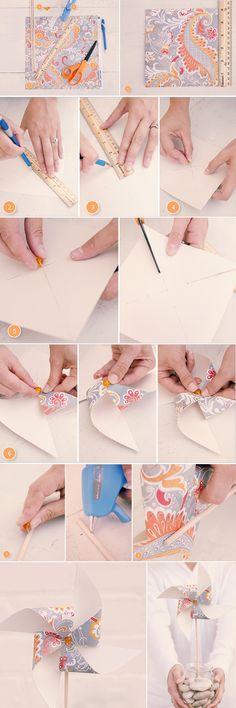 Praise Wedding » Wedding Inspiration and Planning » DIY Projects – PomPom & Pinwheel