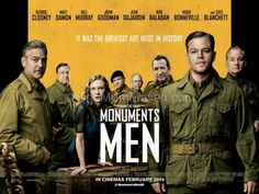 The Monuments Men movie review TheMomMaven.com