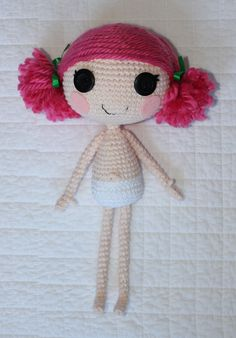 PATTERN: Lalaloopsy Amigurumi Doll. $3.99, via Etsy.