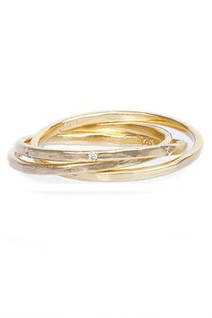 Alternative Wedding Bands That Are So You #refinery29  http://www.refinery29.com/63684#slide19