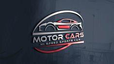 Speed Sports Car Logo Template Sports Car Logos, Car Logo Design, Professional Logo Design, Photoshop Design, Design Tutorials, Logo Templates, Motor Car, Car, Automobile