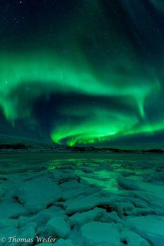 Ice & Green #Norway