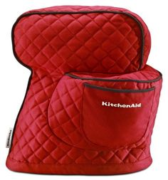 KitchenAid Stand Mixer Cotton Cover at Lowe's. The modern and form-fitting Stand Mixer Cover is perfectly crafted for your KitchenAid Tilt-Head Stand Mixer. Keep your mixer perfectly clean and Kitchenaid Artisan, Kitchenaid Mixer, Small Appliances, Kitchen Appliances, Kitchen Gadgets, Kitchen Tools, Kitchen Canisters, Kitchen Utensils, Kitchenaid Standmixer