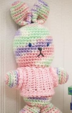 my first bunny - free crochet pattern
