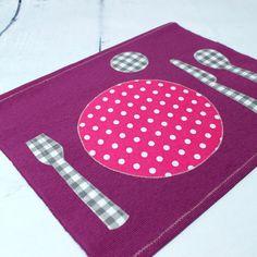 Montessori tovaglietta malva rosa risveglio del di PopelineCo