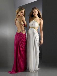 С чем носить платье в греческом стиле