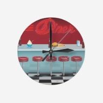 American Diner wall clocks
