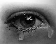 Pencil Drawings Of Eyes Crying - Viewing Gallery