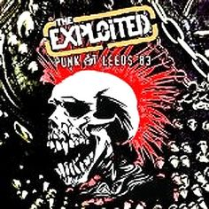 The Exploited Punk at Leeds 83 – Knick Knack Records