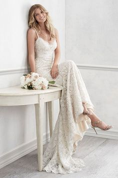 Romance lace wedding dresses inspiration 75