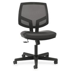 Hon Office Chair - Pin it :-) Follow us :-)) AzOfficechairs.com is your Office chair Gallery ;) CLICK IMAGE TWICE for Pricing and Info :) SEE A LARGER SELECTION of  hon office chair at http://azofficechairs.com/?s=hon+chair - office, office chair, home office chair - Wholesale CASE of 2 – HON Volt Mesh/Blk Leather Synchro-Tilt Task Chair-Mesh Task Chair, 24-1/4″x25″x39″, Leather/Black « AZofficechairs.com...
