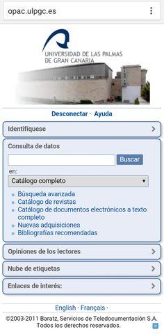 Universidad de Las Palmas de Gran Canaria Canario, Las Palmas, University, Universe
