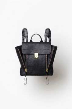 The 3.1 Phillip Lim Pashli bag now comes in backpack form. OMG.