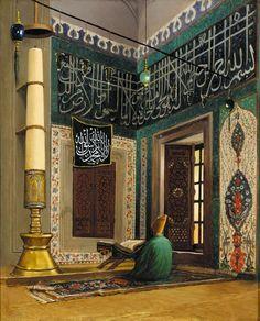 Uskudar Valide Atik Mosque by Osman Hamdi Bey