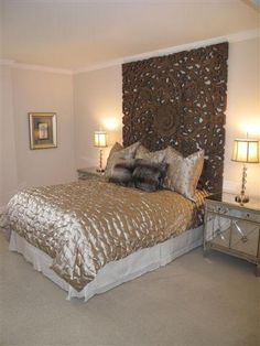 Bedroom Home Staging Project