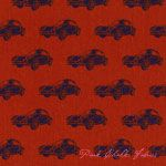 Etsuko Furuya Echino Ni-Co 2014 Car Orange [IMPORT-JG99800-801-B21] - $19.95 : Pink Chalk Fabrics is your online source for modern quilting cottons and sewing patterns., Cloth, Pattern + Tool for Modern Sewists