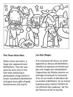 Vie de Jésus Cahier de Coloriage - Life of Jesus Coloring Book